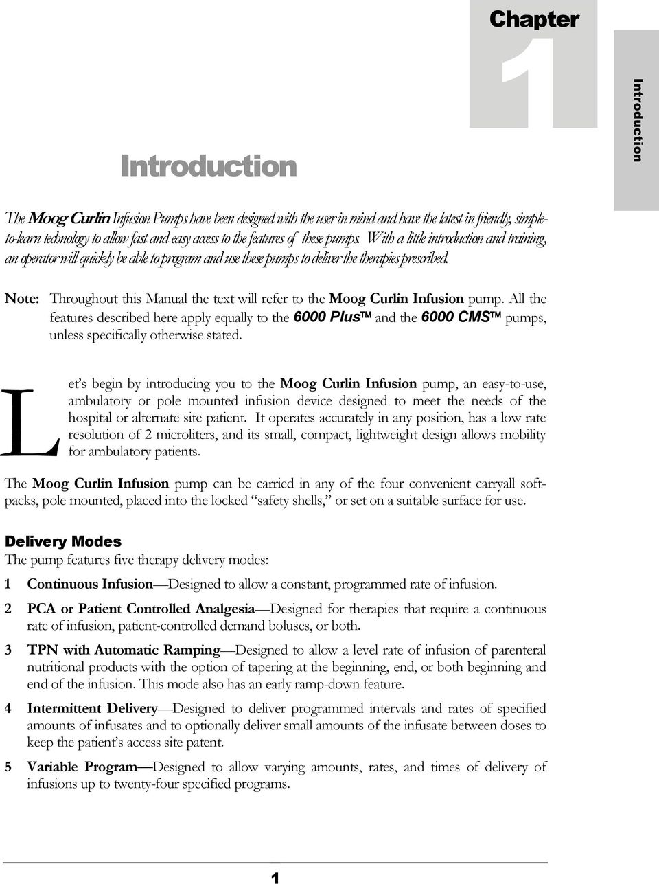 Braun Infusion Pump User Manual