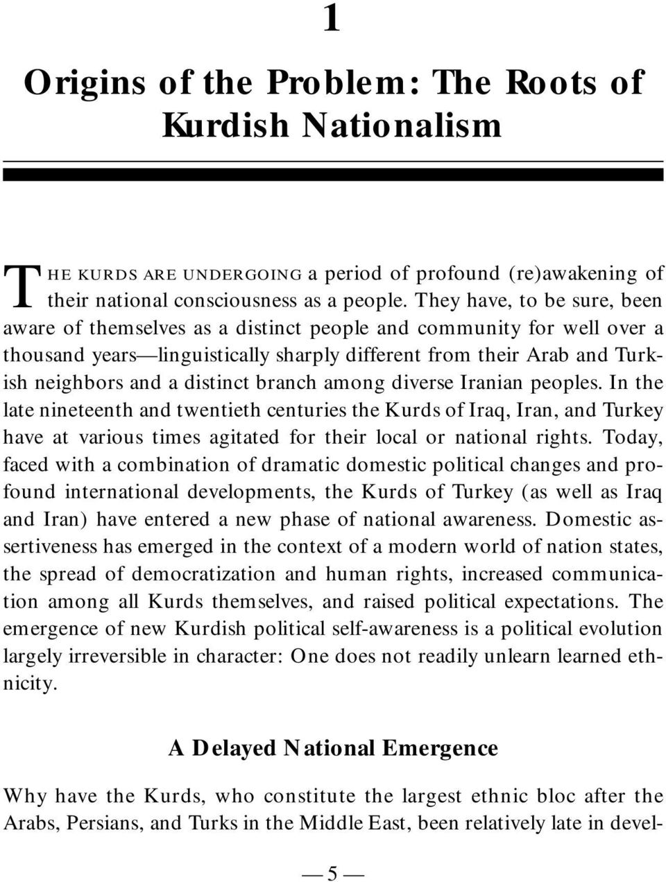 branch among diverse Iranian peoples. In the late nineteenth and twentieth centuries the Kurds of Iraq, Iran, and Turkey have at various times agitated for their local or national rights.