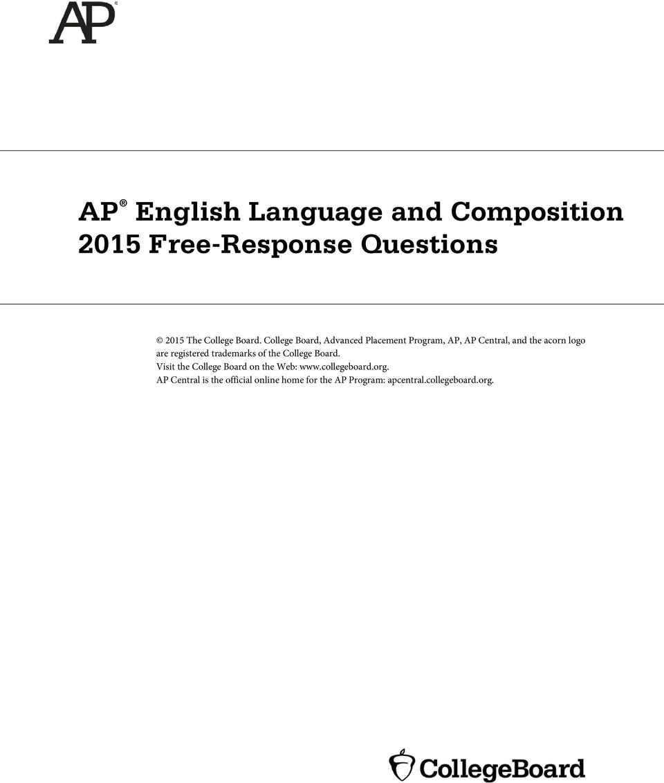 AP English Literature & Composition