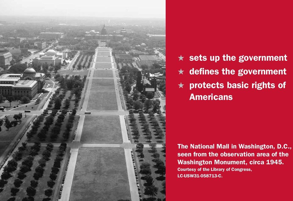 , seen from the observation area of the Washington Monument,