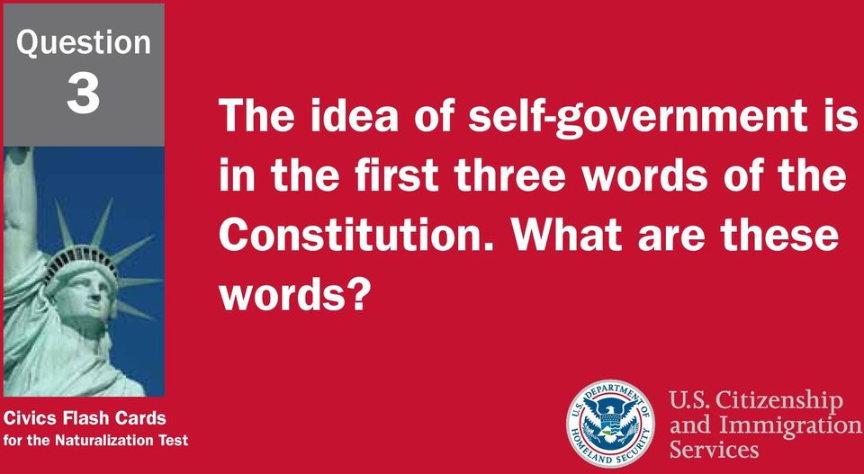 Constitution. What are these words?