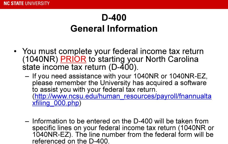 D400 Nc Tax Form 2014 Cypruhamsaa