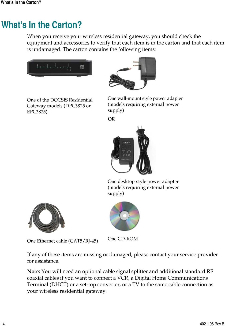 cisco model dpc3825 and epc3825 8x4 docsis 3 0 wireless residential rh docplayer net Cisco DPC3825 Cisco DPC Symbol