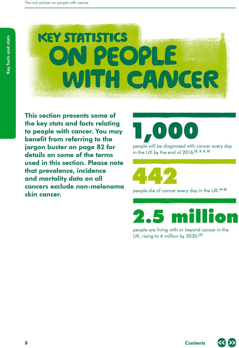 Please note that prevalence, incidence and mortality data on all cancers exclude non-melanoma skin cancer.