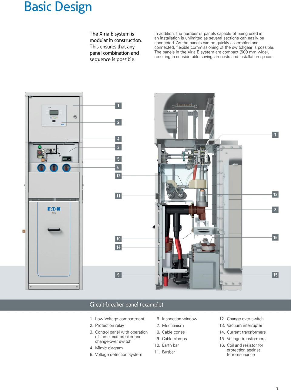 As the panels can be quickly assembled and connected, flexible commissioning of the switchgear is possible.