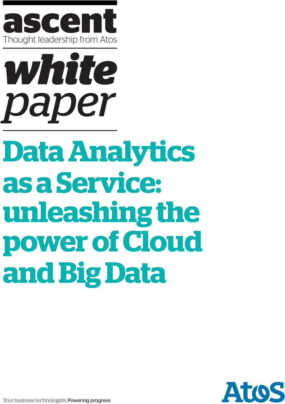 unleashing the power of Cloud and Big