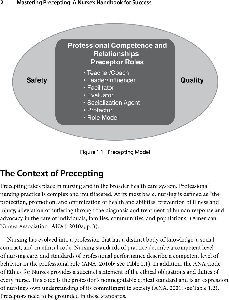 Professional nursing practice is complex and multifaceted.