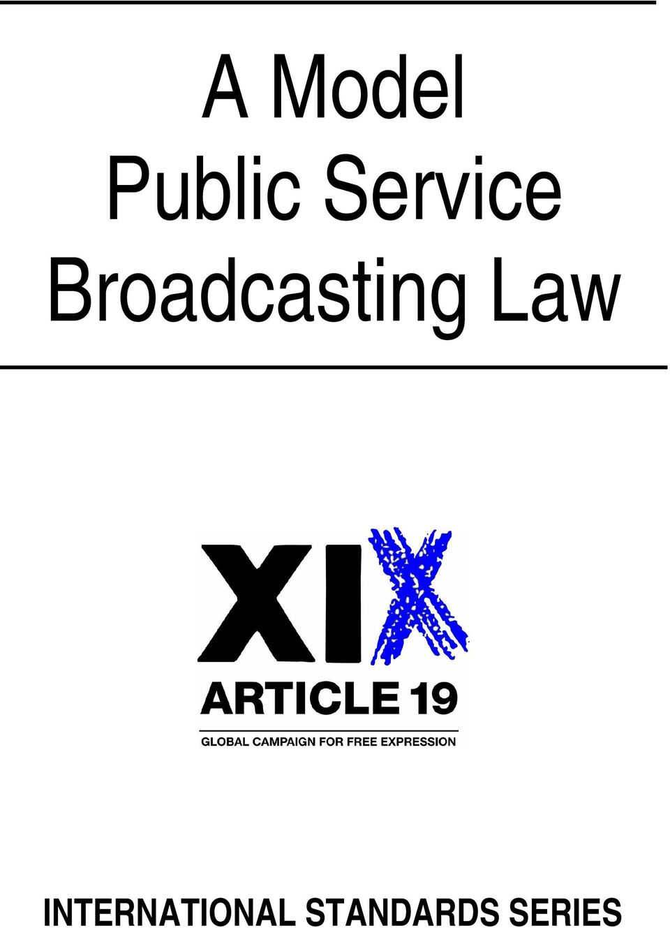 Broadcasting Law