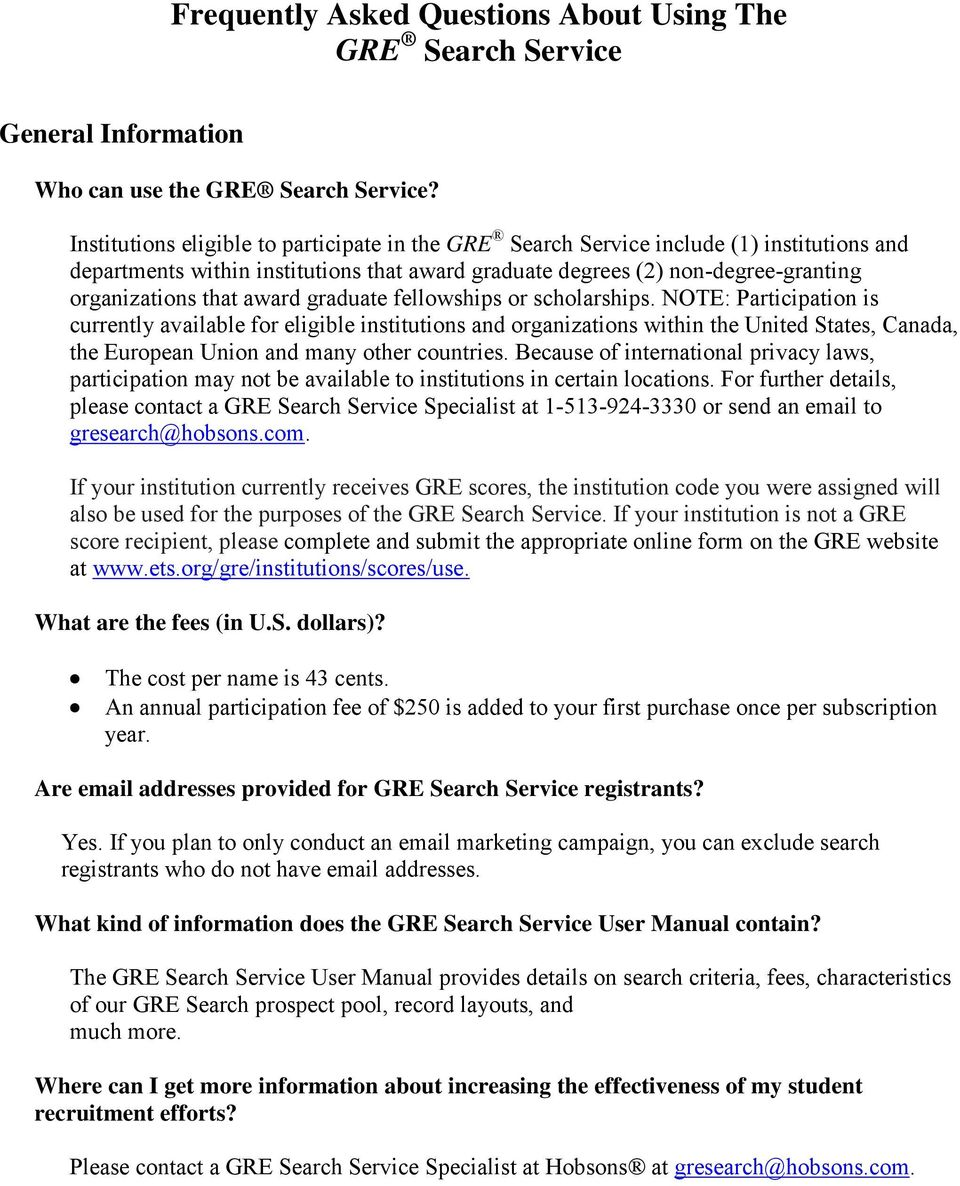 award graduate fellowships or scholarships.
