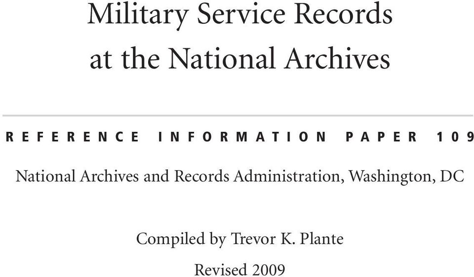 9 National Archives and Records Administration,