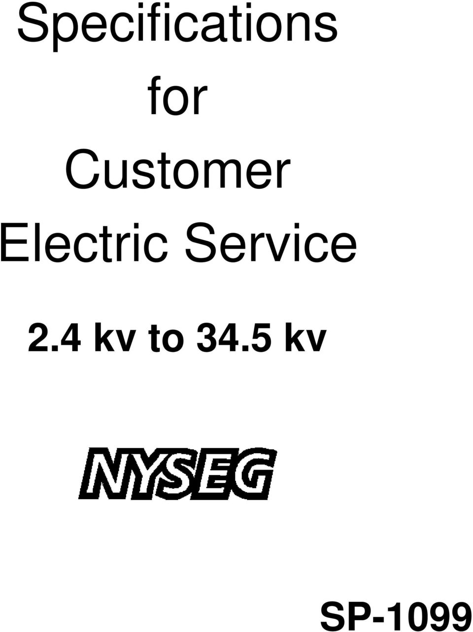 Electric Service