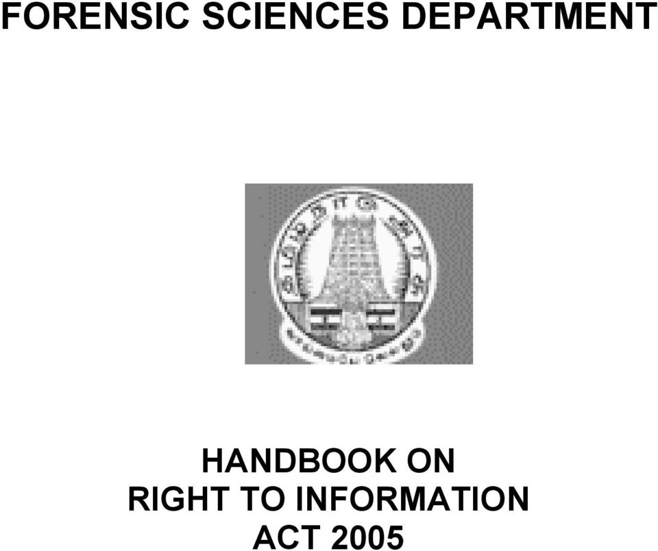 HANDBOOK ON RIGHT