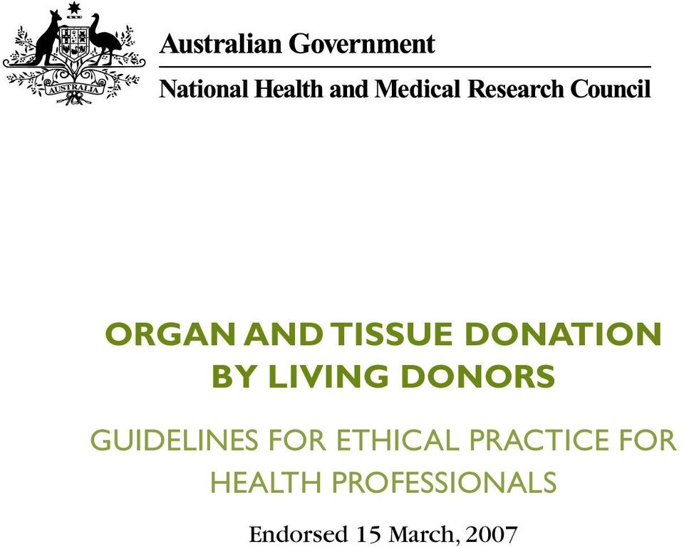 ETHICAL PRACTICE FOR HEALTH