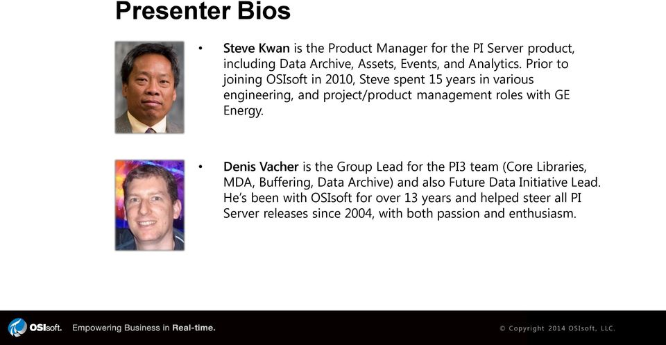 Denis Vacher is the Group Lead for the PI3 team (Core Libraries, MDA, Buffering, Data Archive) and also Future Data Initiative