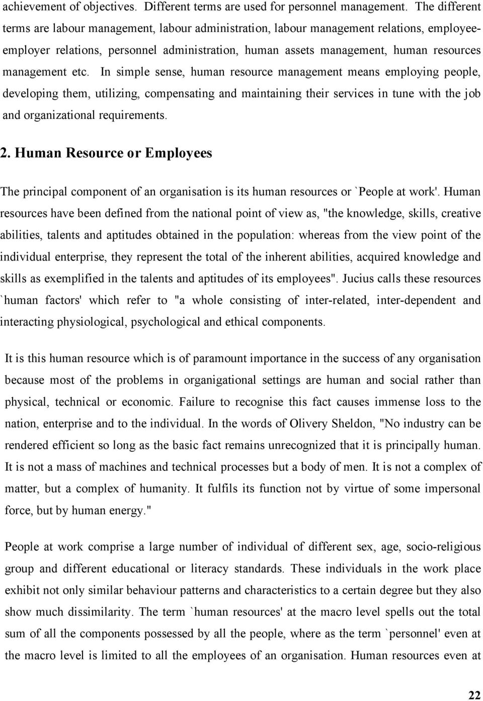 Literature Review for Human Resource Management System Study com         Chapter       Literature Review