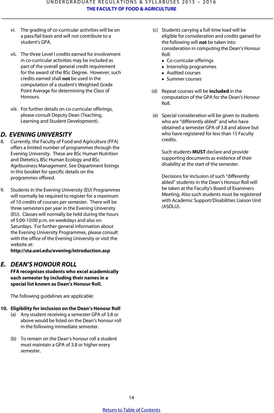 The Faculty Of Food & Agriculture Pdf Hstranscriptg How To Get A 40 Gpa
