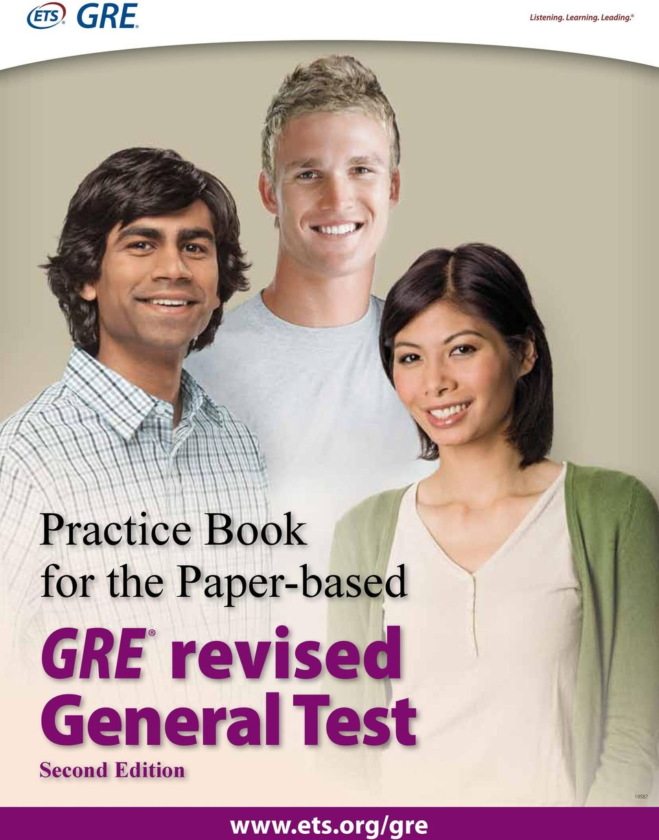 revised General Test