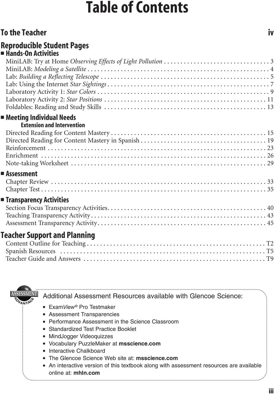 worksheet Reproducible Student Worksheet lab worksheets for each student edition activity laboratory 4