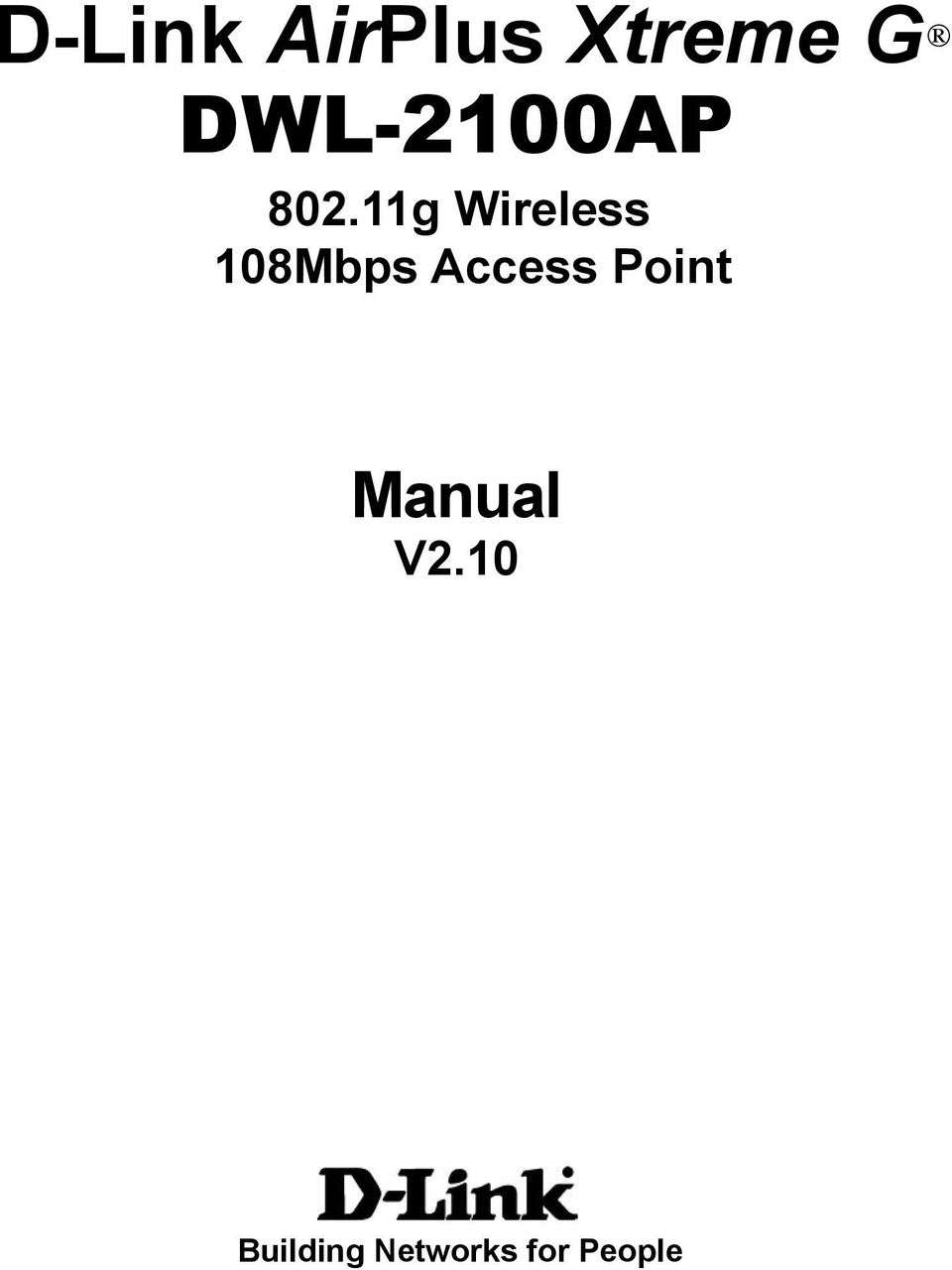 11g Wireless 108Mbps Access
