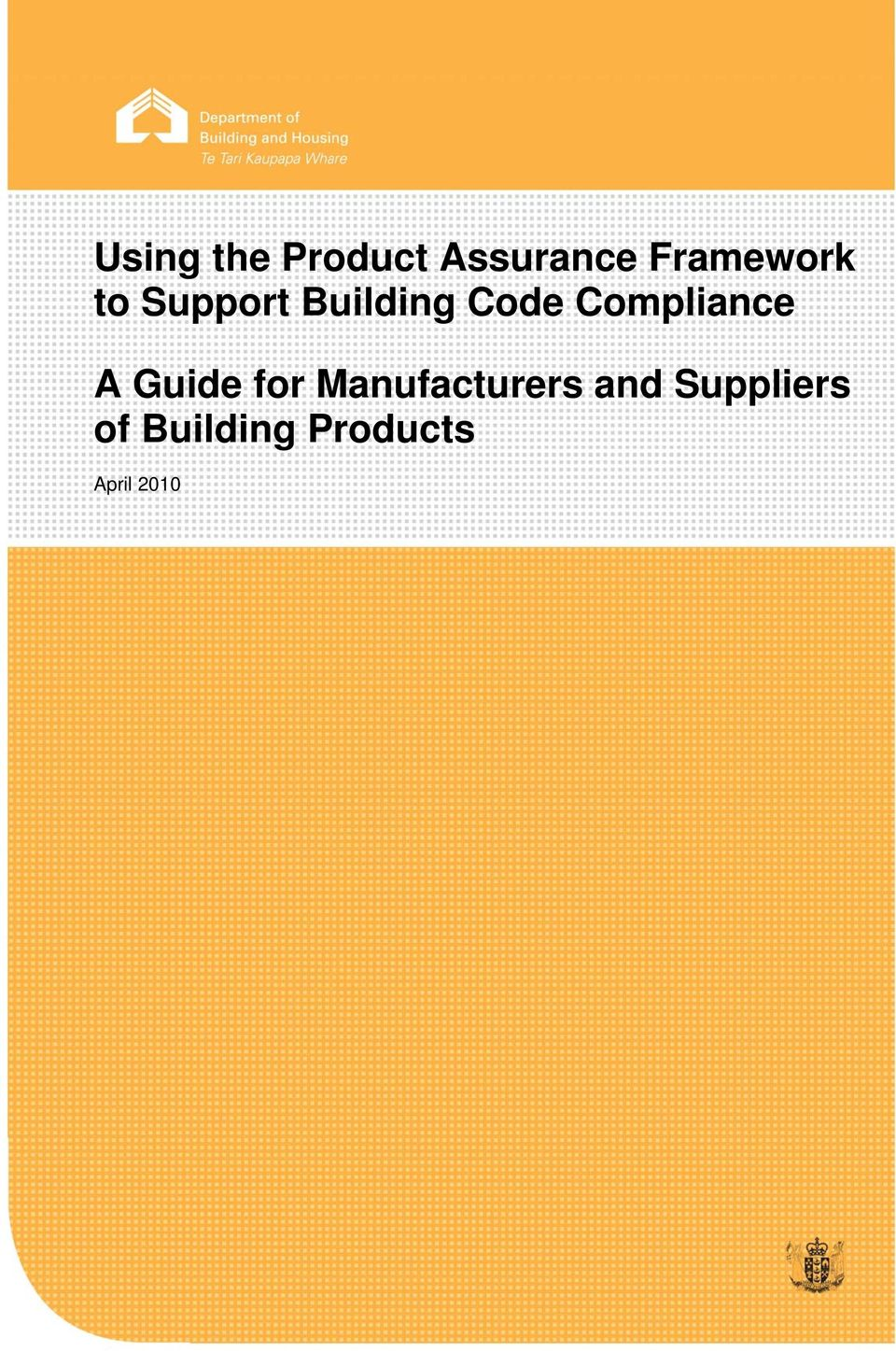 Compliance A Guide for Manufacturers