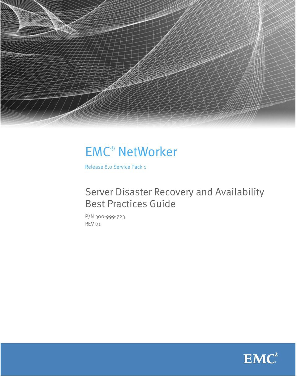 Disaster Recovery and