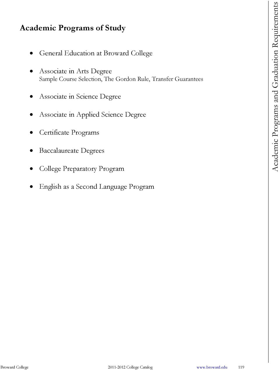 General education at broward college associate in arts degree applied science degree certificate programs baccalaureate degrees college preparatory program yadclub Image collections