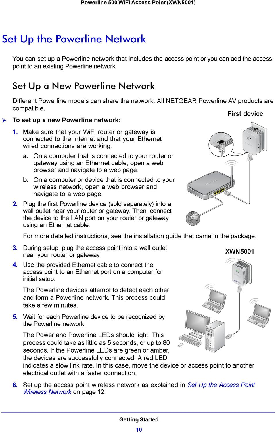 Make sure that your WiFi router or gateway is connected to the Internet an