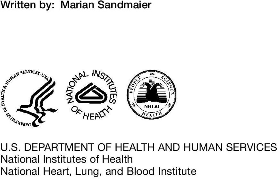 DEPARTMENT OF HEALTH AND HUMAN
