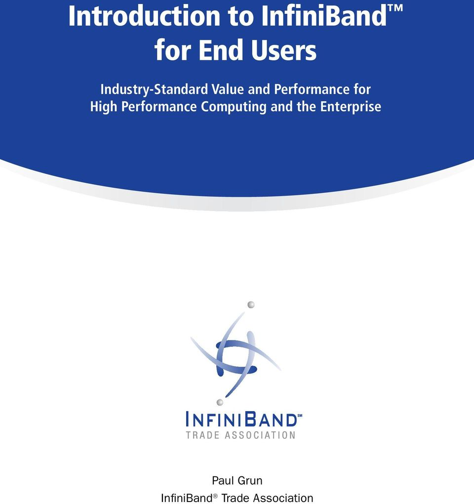 for High Performance Computing and the