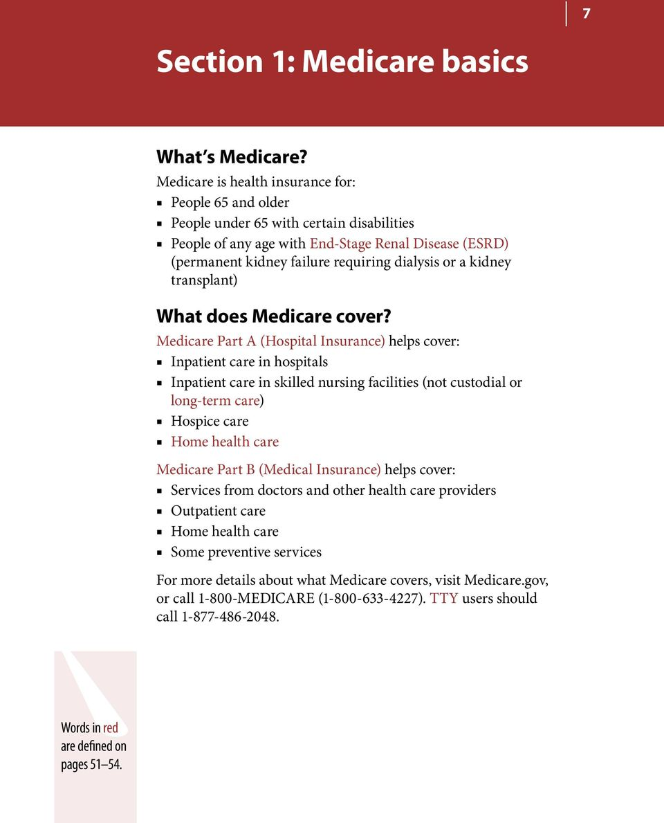 kidney transplant) What does Medicare cover?