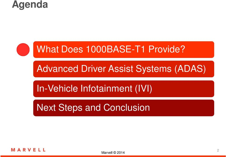 Advanced Driver Assist Systems