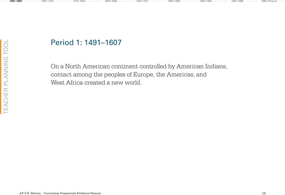 North American continent controlled by American Indians, contact among
