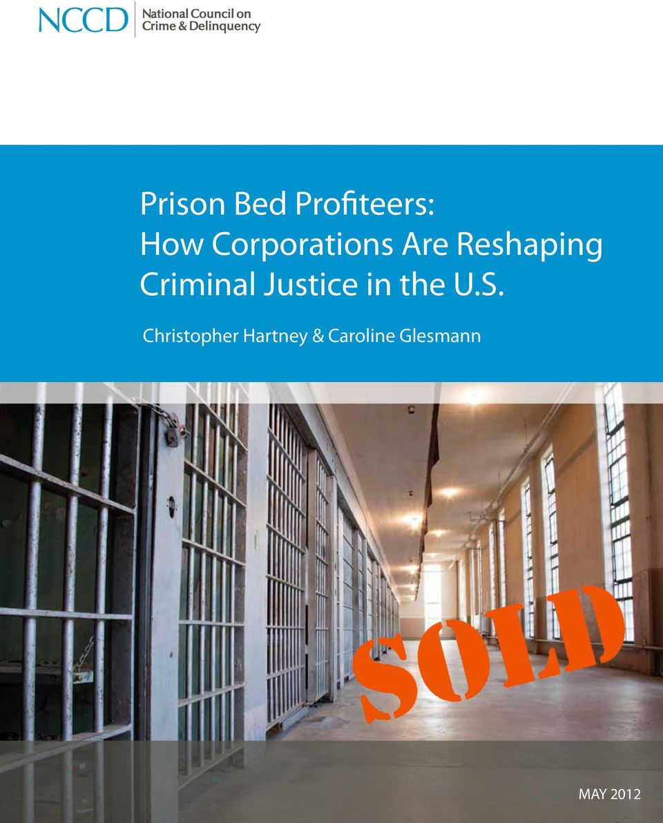 Criminal Justice in the U.S.
