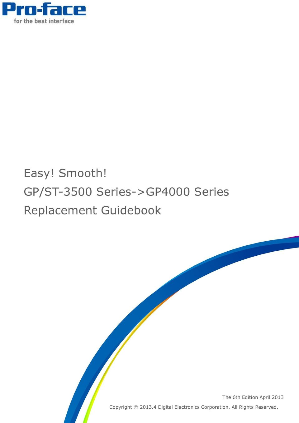 Replacement Guidebook 1/46 The 6th Edition
