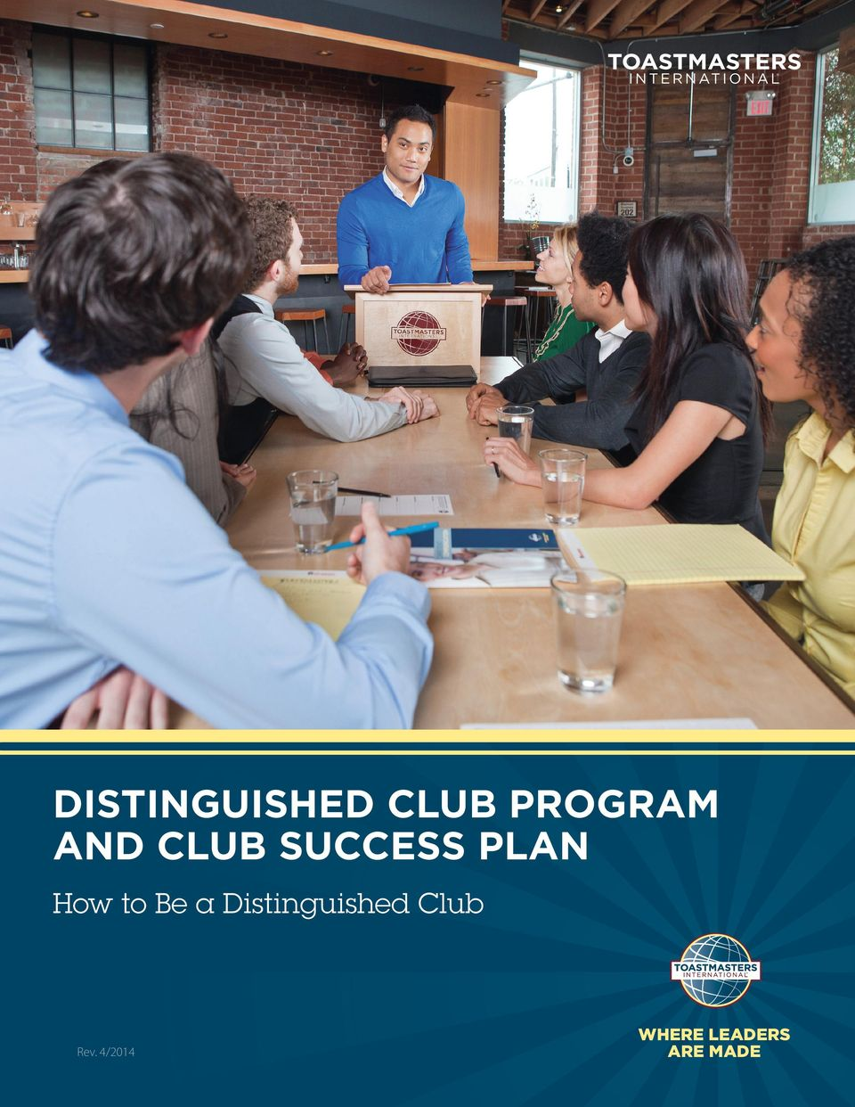 Be a Distinguished Club Rev.