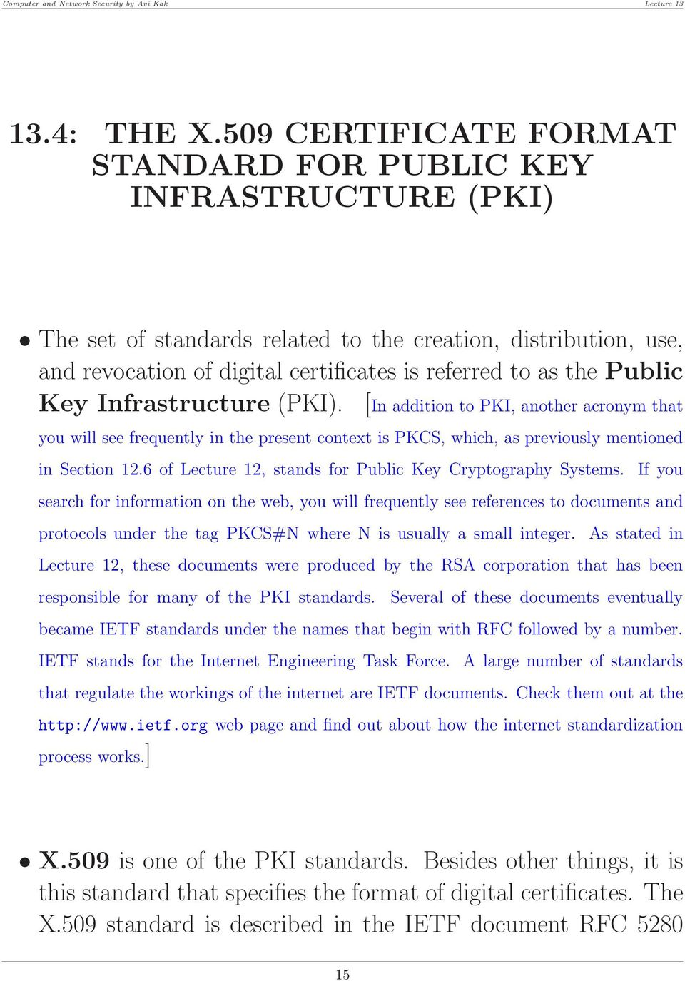 Lecture 13 Certificates Digital Signatures And The Diffie Hellman