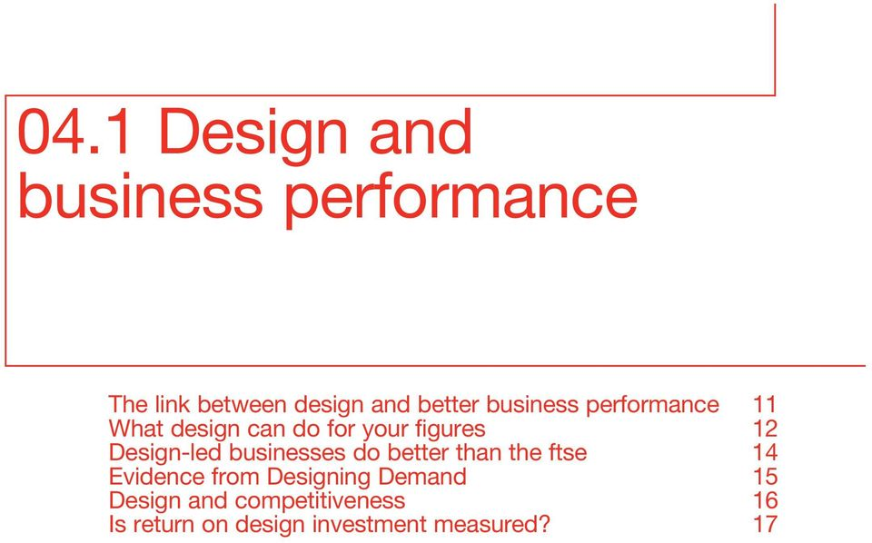 Design-led businesses do better than the ftse 14 Evidence from Designing