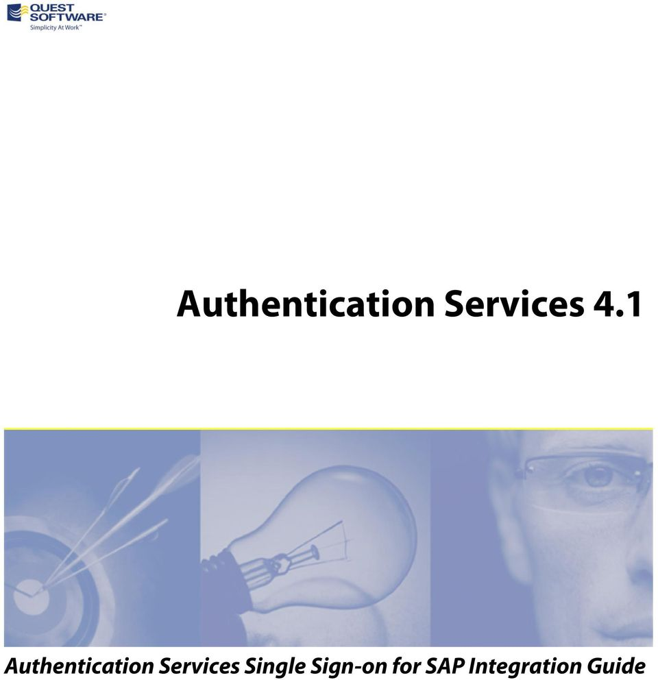 Authentication Services 4 1  Authentication Services Single Sign-on
