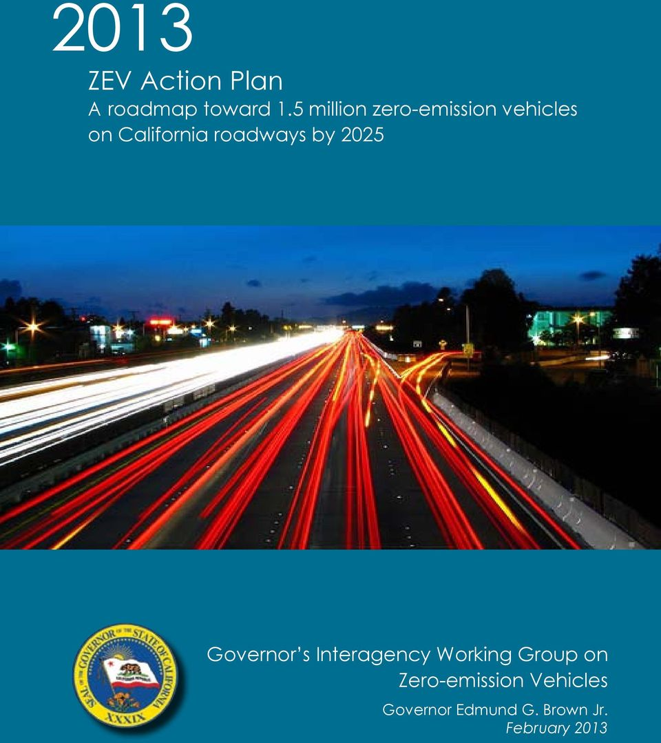 roadways by 2025 Interagency Working Group on