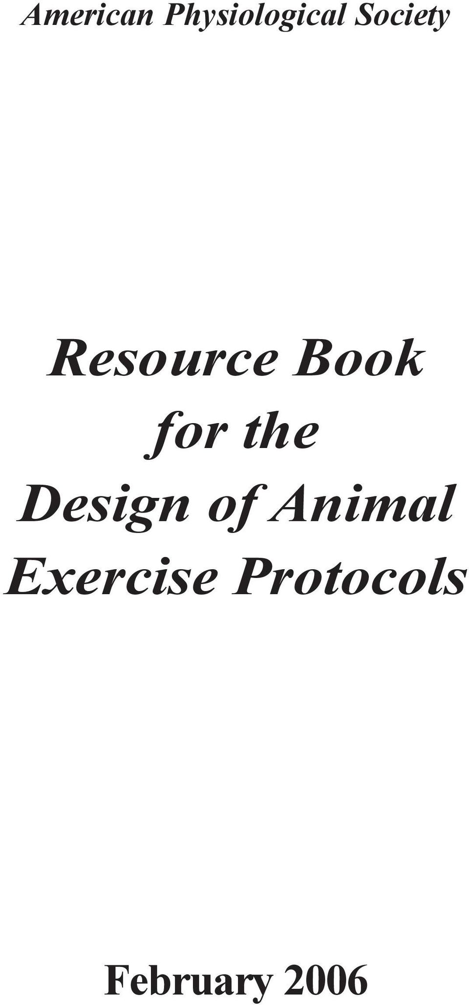 the Design of Animal