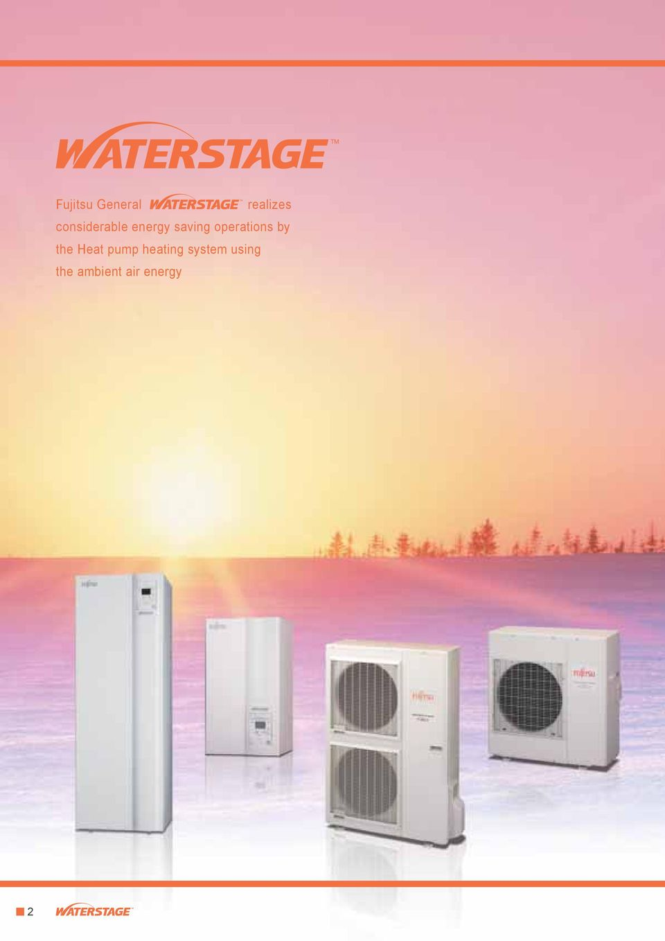 operations by the Heat pump