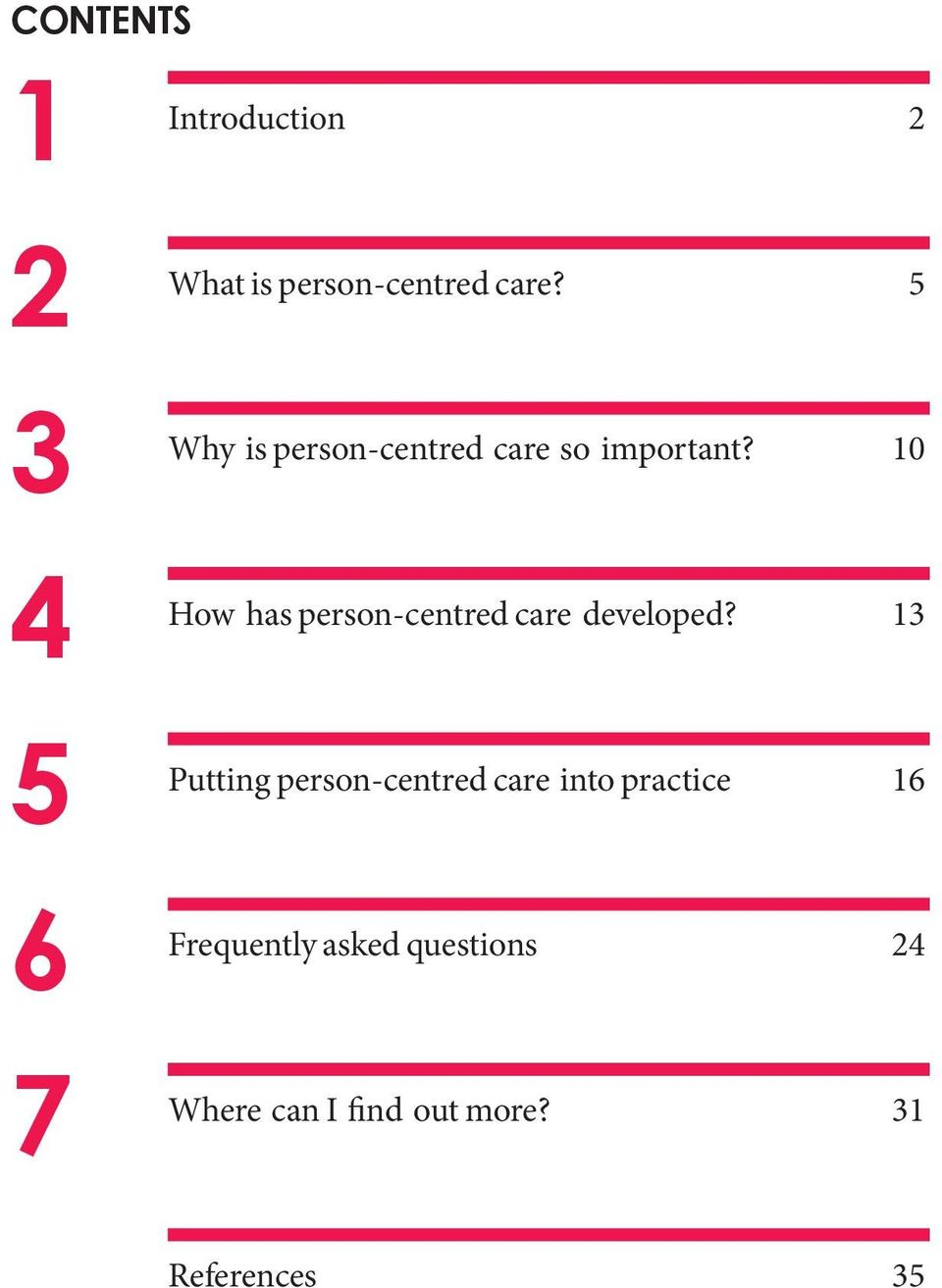 10 How has person-centred care developed?