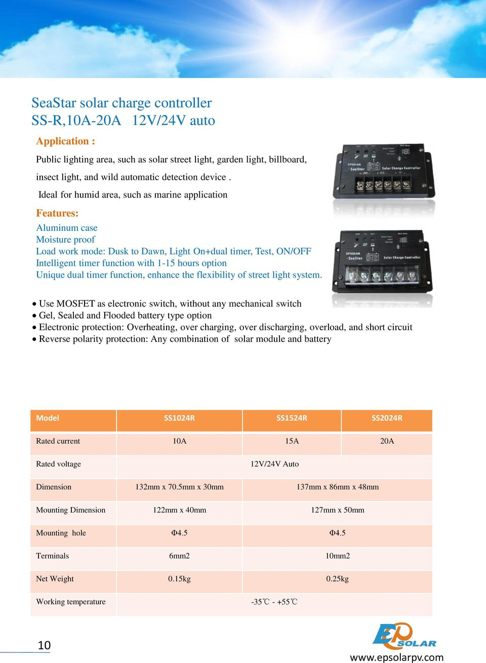 dual timer function, enhance the flexibility of street light system.