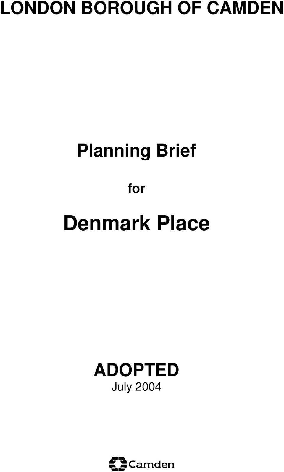 Brief for Denmark