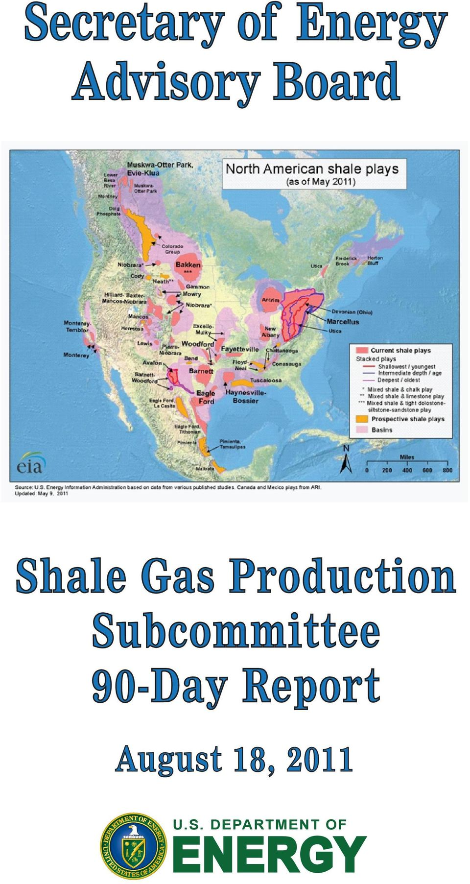 Gas Subcommittee 90-Day Report
