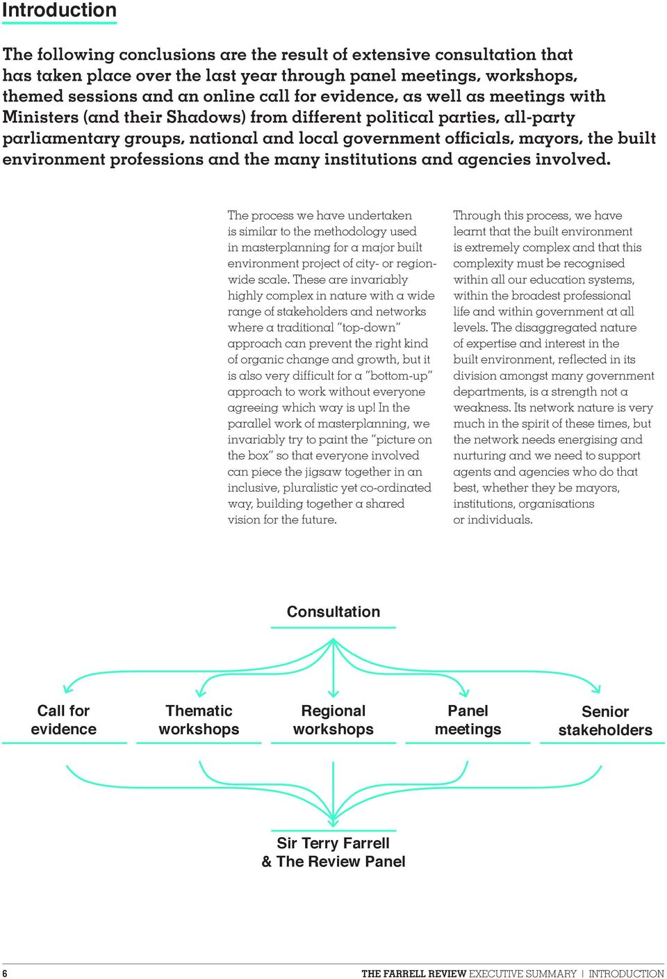 environment professions and the many institutions and agencies involved.