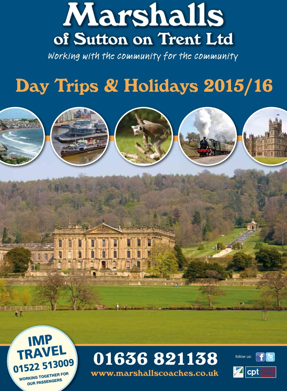 2015/16 IMP TRAVEL 01522 513009 Working together for