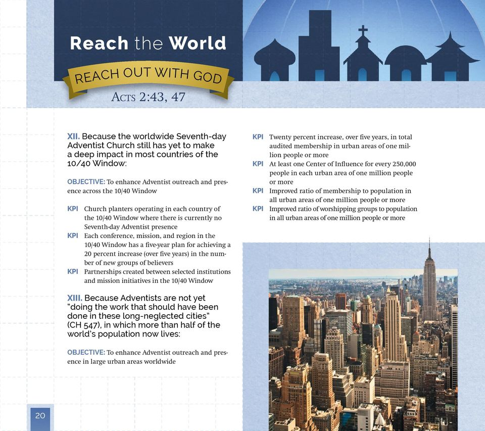 Reach the world strategic plan reach up to god reach in for 20 40 window missions