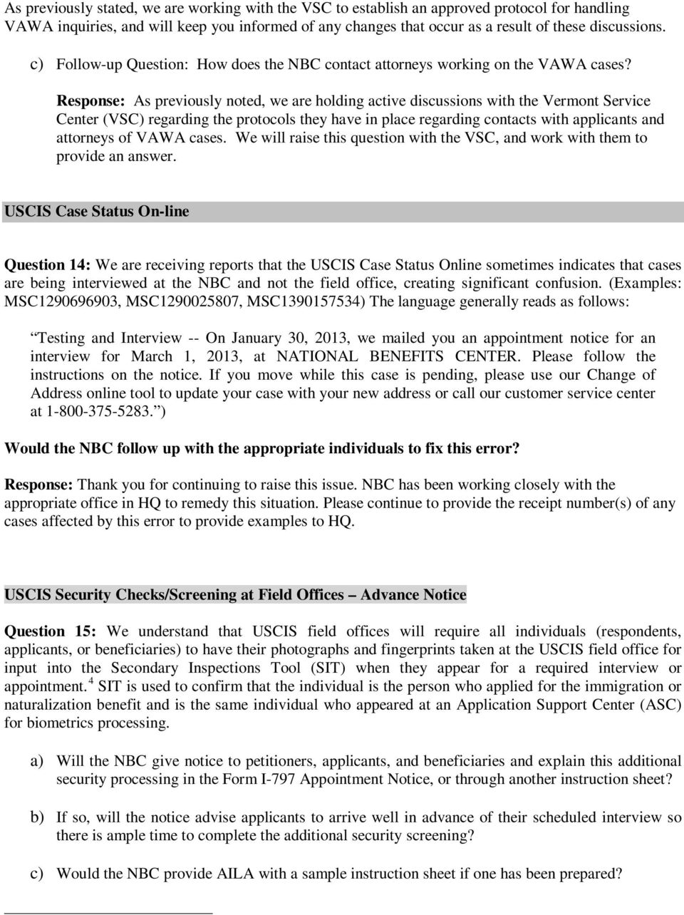 Questions and answers pdf response as previously noted we are holding active discussions with the vermont service center falaconquin