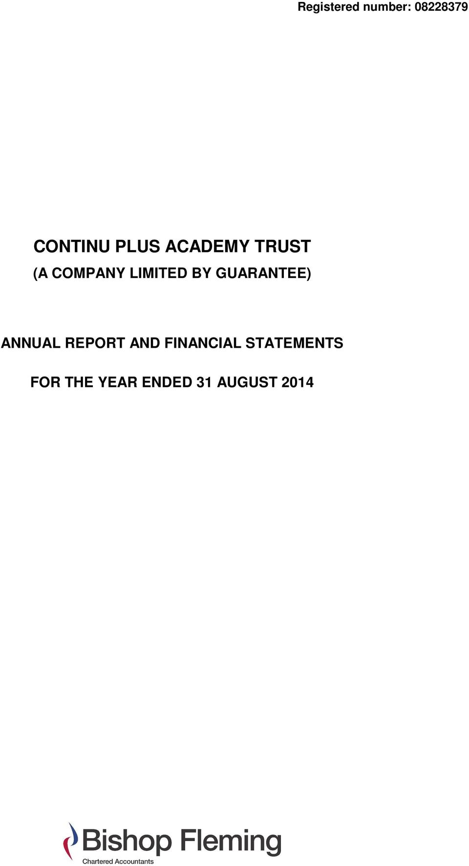 ANNUAL REPORT AND FINANCIAL